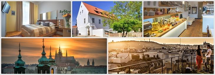 Monastery Hotel Prága szívében