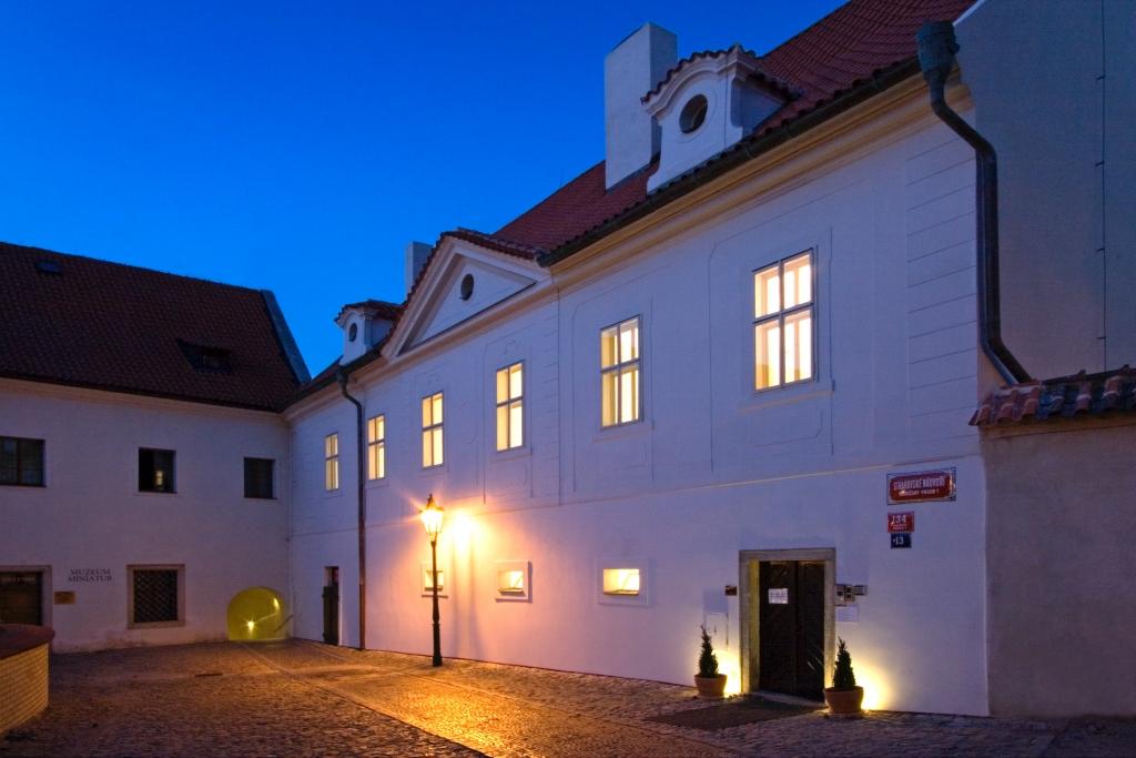Hotel Monastery Prága kívülről