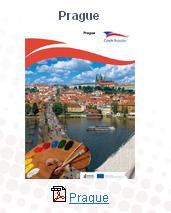 prágáról letölthető pdf információs anyag tájékoztató füzet szórólap Prága ingyenes