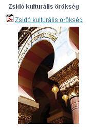 prágáról letölthető pdf Zsidó kulturális örökségről prospektus brosura tájékoztató Prága ingyenes