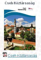 cseh köztársaságról azaz csehországról érdekes és gyorsan átlátható letölthető pdf térkép Prága ingyenes