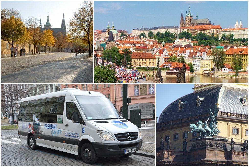 Image of 2 órás városnéző túra busszal és gyalogosan Prága belvárosában 1 fő részére