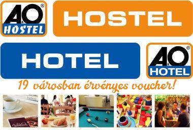 2 napos ajánlat! - A&O Hotels - 19 városban érvényes voucher 2 fő részére, 1 éjszakára reggelivel