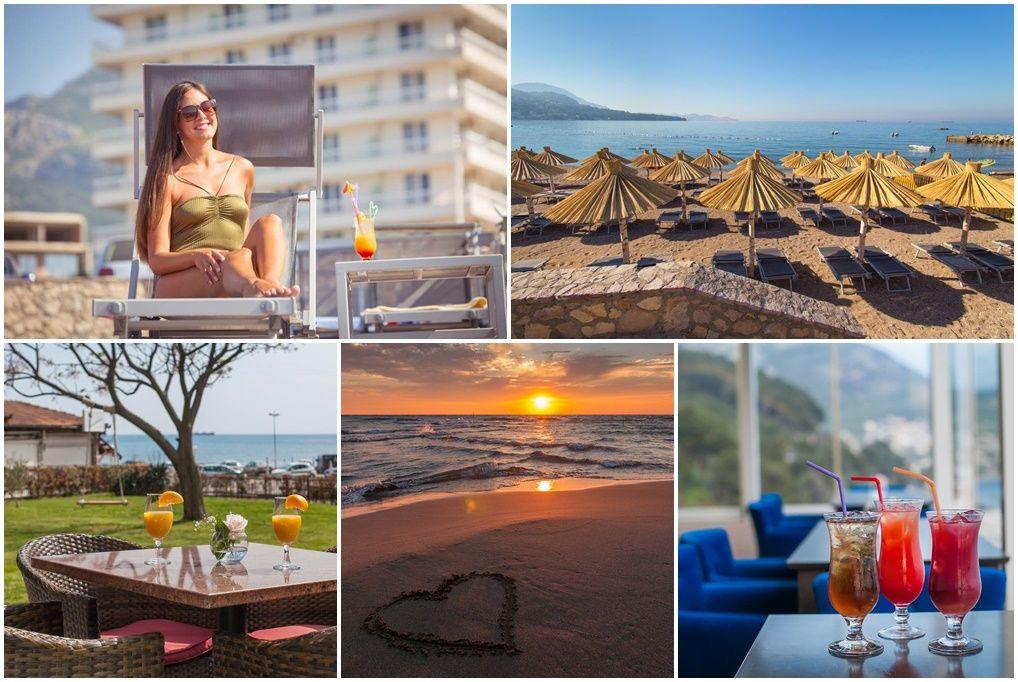 8 nap/7 éjszaka 2 fő részére félpanziós ellátással Montenegró közkedvelt tengerpartján - Hotel Sato